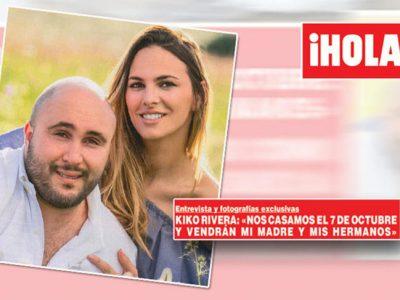 Kiko Rivera e Irene Rosales, ¡boda el 7 de octubre!
