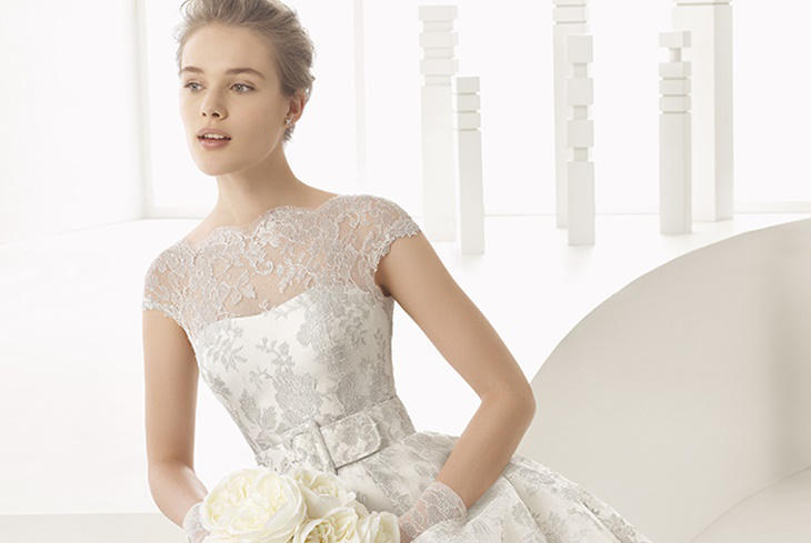 Rosa Clará vestidos de novia 2017, colección delicada