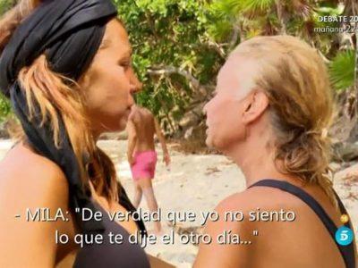 Supervivientes 2016, Mila Ximénez firma la paz con Steisy, ¿durará?