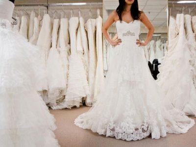 5 cosas que debes llevar cuando elijas tu vestido de novia