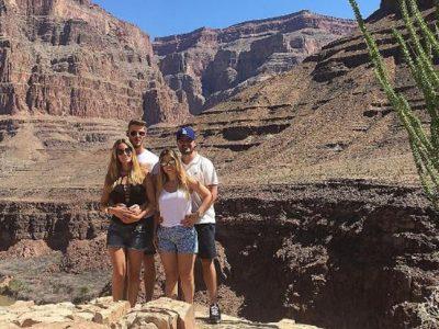 Edurne comparte las primeras imágenes de sus vacaciones con De Gea