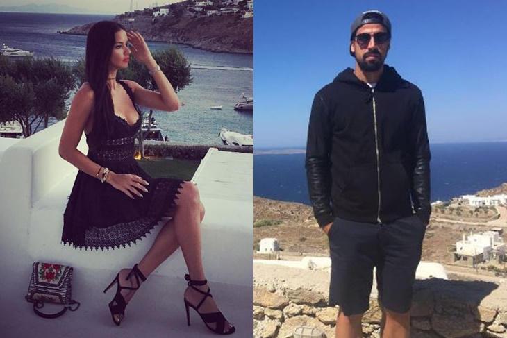 Adriana Lima ¿está saliendo con el futbolista alemán Sami Khedira?