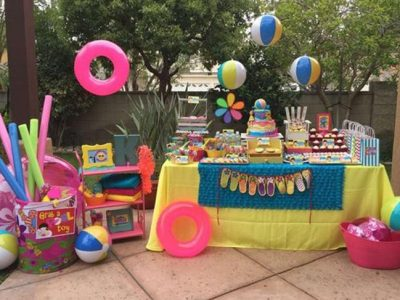 Decoración para una fiesta de cumpleaños en la piscina, ¡las más divertidas! [FOTOS]