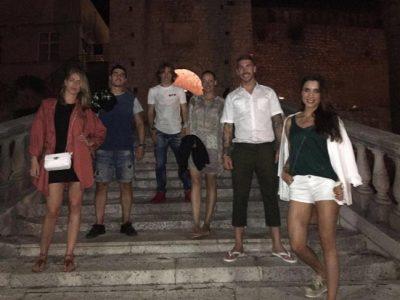 Pilar Rubio y Sergio Ramos, vacaciones en Croacia con amigos