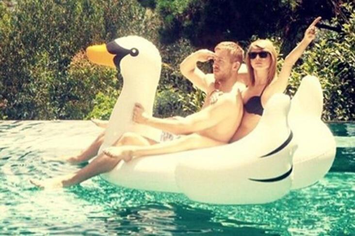 Taylor Swift y Calvin Harris ¡estalla la guerra por una canción!