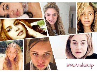 Famosas sin maquillaje, ¿quiénes se han apuntado al #NoMakeUp?