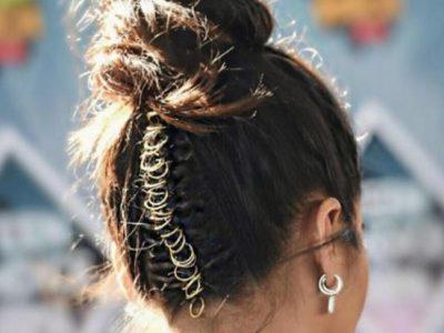 Peinados con anillas, ¿te apuntas al look más trendy?