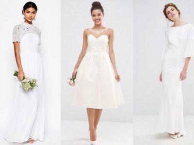 Vestidos de novia low cost 2017, con estilo sin arruinarte