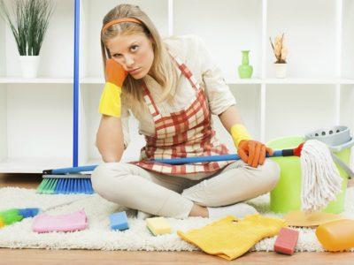 5 claves para limpiar la casa cuando casi no estás