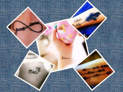 Tatuajes de nombres para mujer, ¡las mejores ideas!