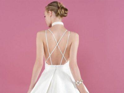 Vestidos de novia con espalda al aire 2017, el toque de seducción