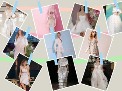 10 vestidos de novia sorprendentes y diferentes