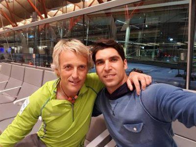 Cayetano Rivera se va de aventura con Jesús Calleja a Chile
