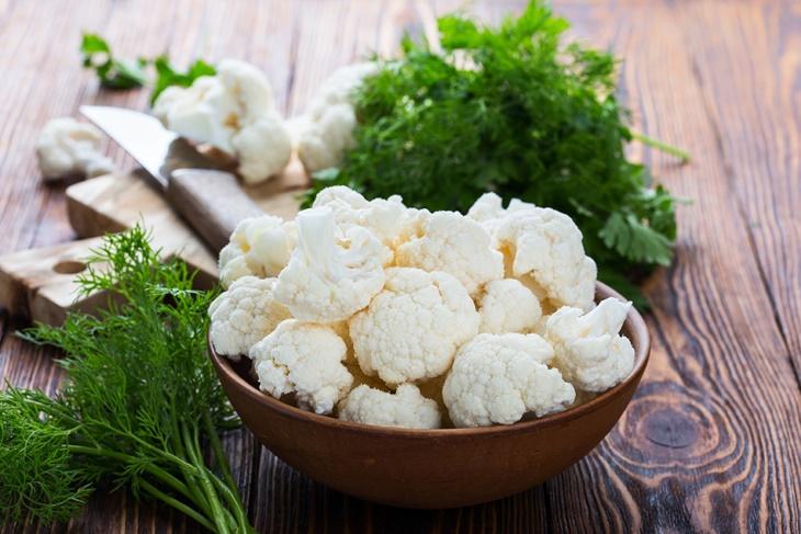 5 sorprendentes propiedades y beneficios de la coliflor