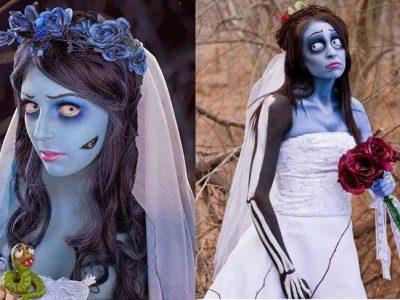 Disfraz novia cadáver para Halloween paso a paso: Deslumbra