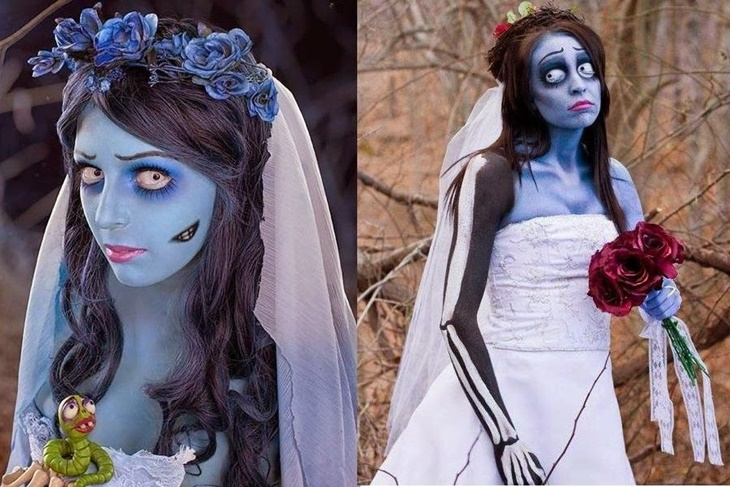 Hacer vestido novia cadaver