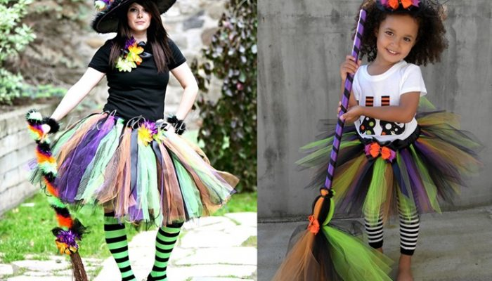 Disfraz de bruja con tutú casero: El paso a paso sin coser