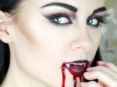 Disfraz de vampiresa casero para Halloween: El paso a paso