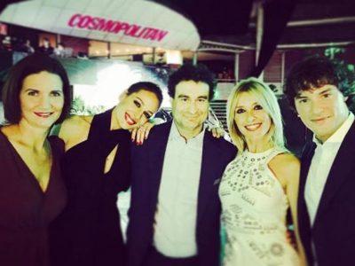 Eva González, Edurne y Adriana Abenia en los Premios Cosmopolitan 2016