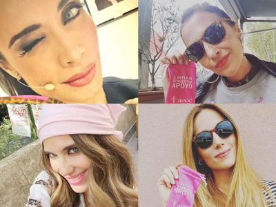 Los famosos se vuelcan con el Día Contra el Cáncer de Mama 2016