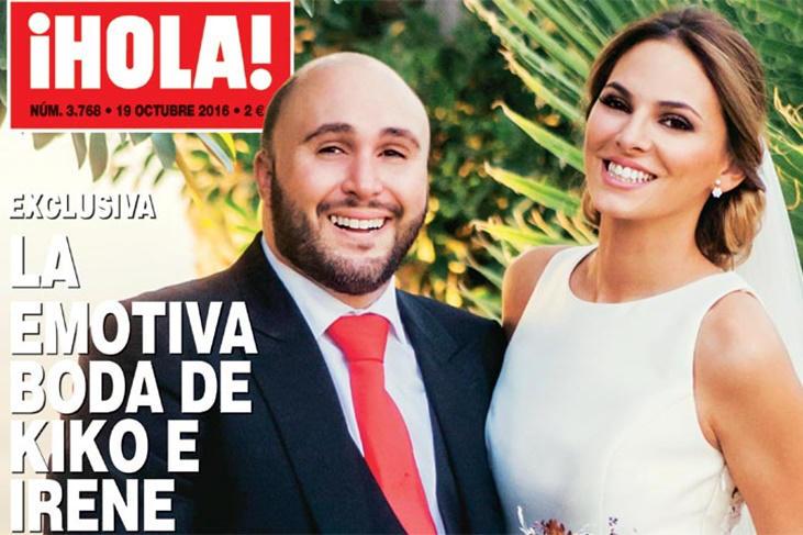 Kiko Rivera e Irene Rosales boda con portada exclusiva con Isabel Pantoja