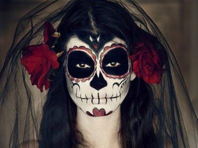Maquillaje de Catrina para Halloween paso a paso: La calavera mexicana