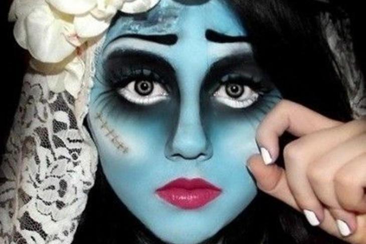 Maquillaje novia cadáver para Halloween, ¡ideas aterradoras!