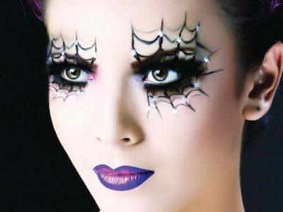Maquillaje de ojos de bruja para Halloween: Trucos