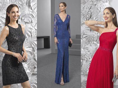 Rosa Clará vestidos de fiesta 2017, elegantes, chic y a la última