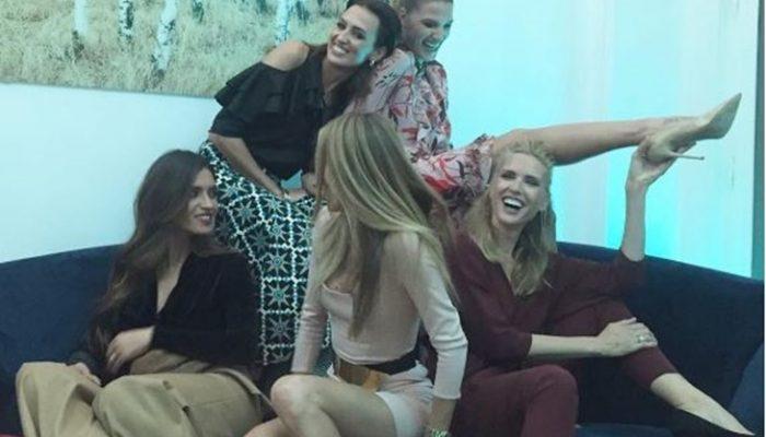 Sara Carbonero, Nieves Álvarez y Laura Sánchez, divertida fiesta de chicas