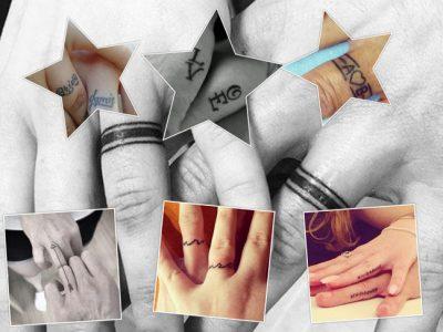 Tatuajes de compromiso para parejas, ¡di adiós a los clásicos anillos!