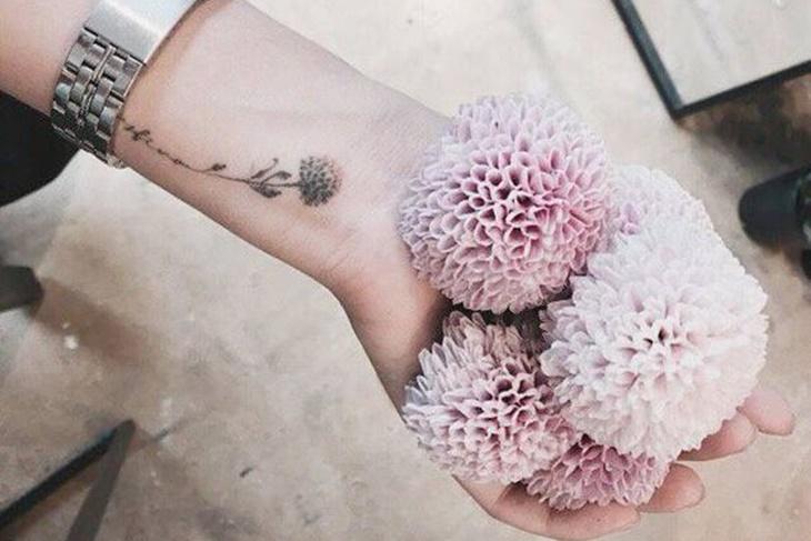 Tatuajes de flores pequeñas para mujeres, ¡los más chic!