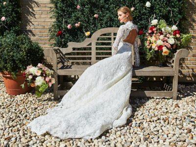 Vestidos de novia de encaje 2017: Los que marcan tendencia