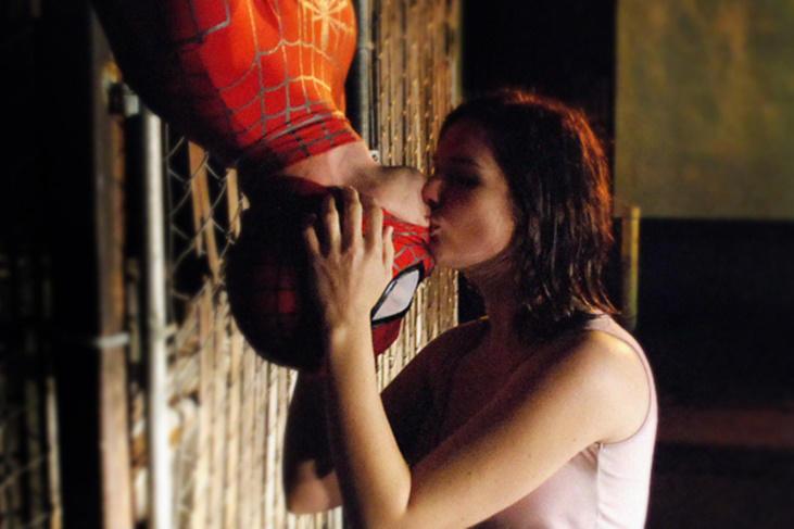 5 actores de Hollywood que no querían besar a sus compañeros: Spiderman