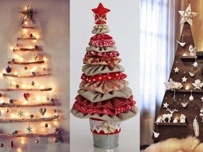 7 árboles de Navidad únicos y originales para copiar