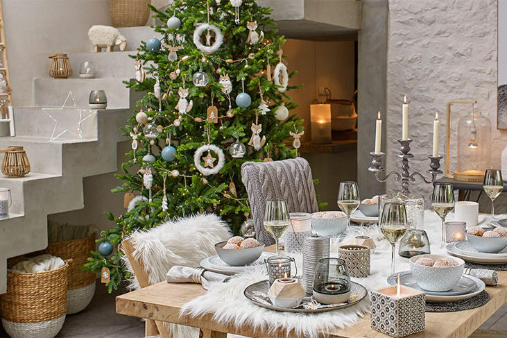Decoraci n de navidad 2016 las tendencias m s chic fotos for Decoracion tendencias 2016
