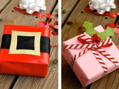 Cómo envolver un regalo de forma original en Navidad: Ideas