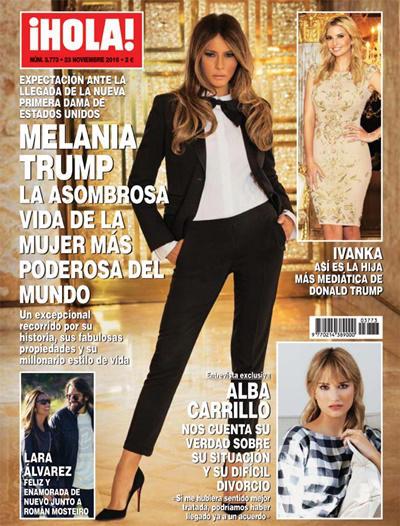 Lara Álvarez y Román Mosteiro portada ¡Hola!