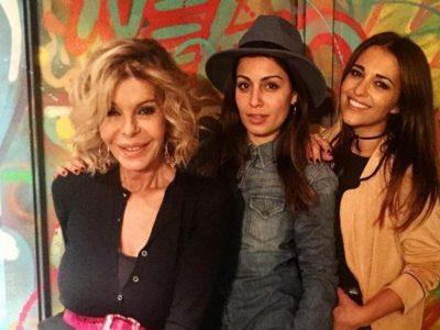 Paula Echevarría e Hiba Abouk se van de cumpleaños con más amigas