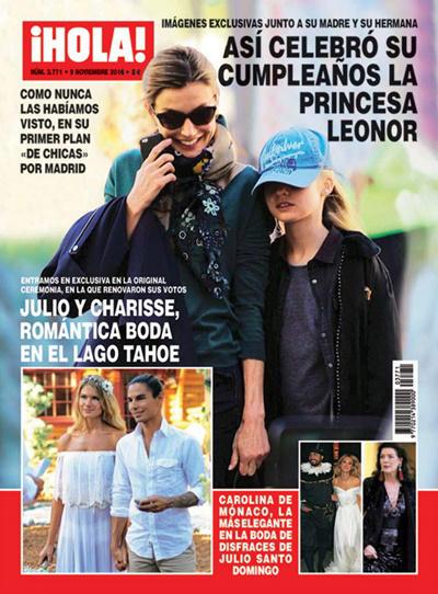 Princesa Leonor en la portada ¡Hola!