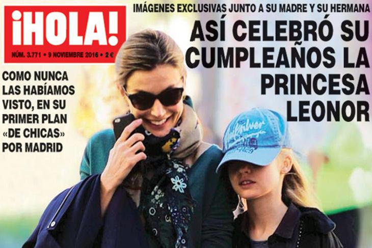La Princesa Leonor celebra su cumpleaños con un día de chicas