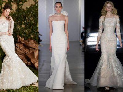 Vestidos de novia sirena 2017, sensualidad y estilazo