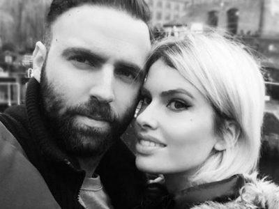 Adriana Abenia y Sergio Abad celebran su primer aniversario en Londres