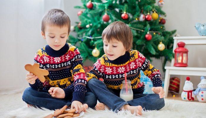 Cómo evitar que los niños coman mal en Navidad