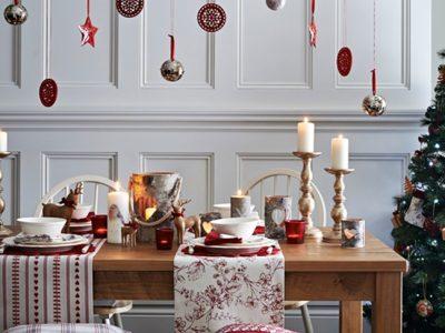 Decoración de la mesa en Navidad al estilo nórdico: Las claves