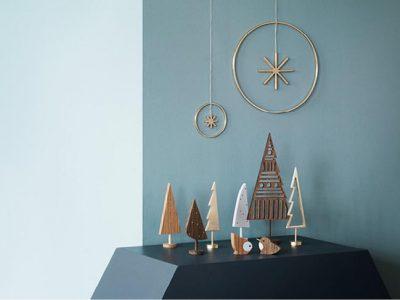 Decoración de Navidad minimalista, apuesta por la sencillez