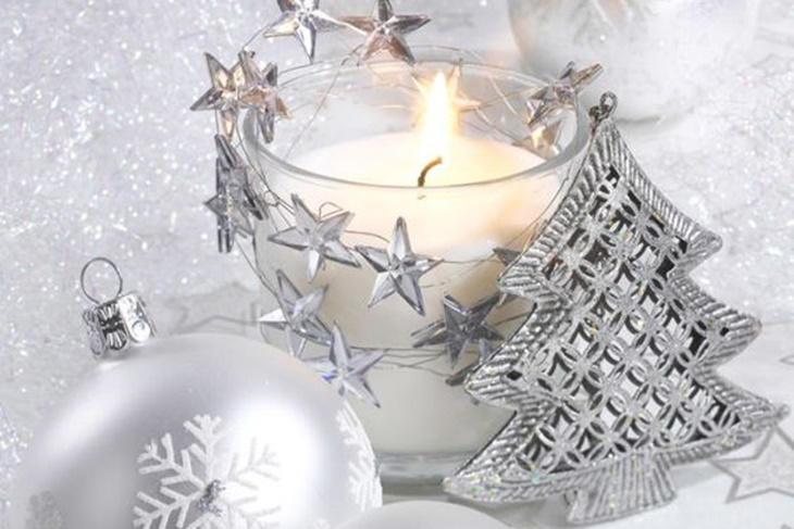 Decoración de Navidad en color plata, ideas únicas [FOTOS] - Mujeralia