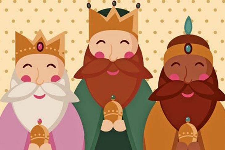 de los Reyes Magos para colorear Los mejores