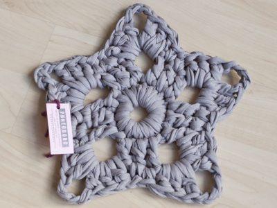 Estrella de Navidad de crochet: Adornos en ganchillo