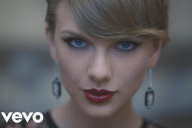 Los 5 vídeos más vistos de Taylor Swift